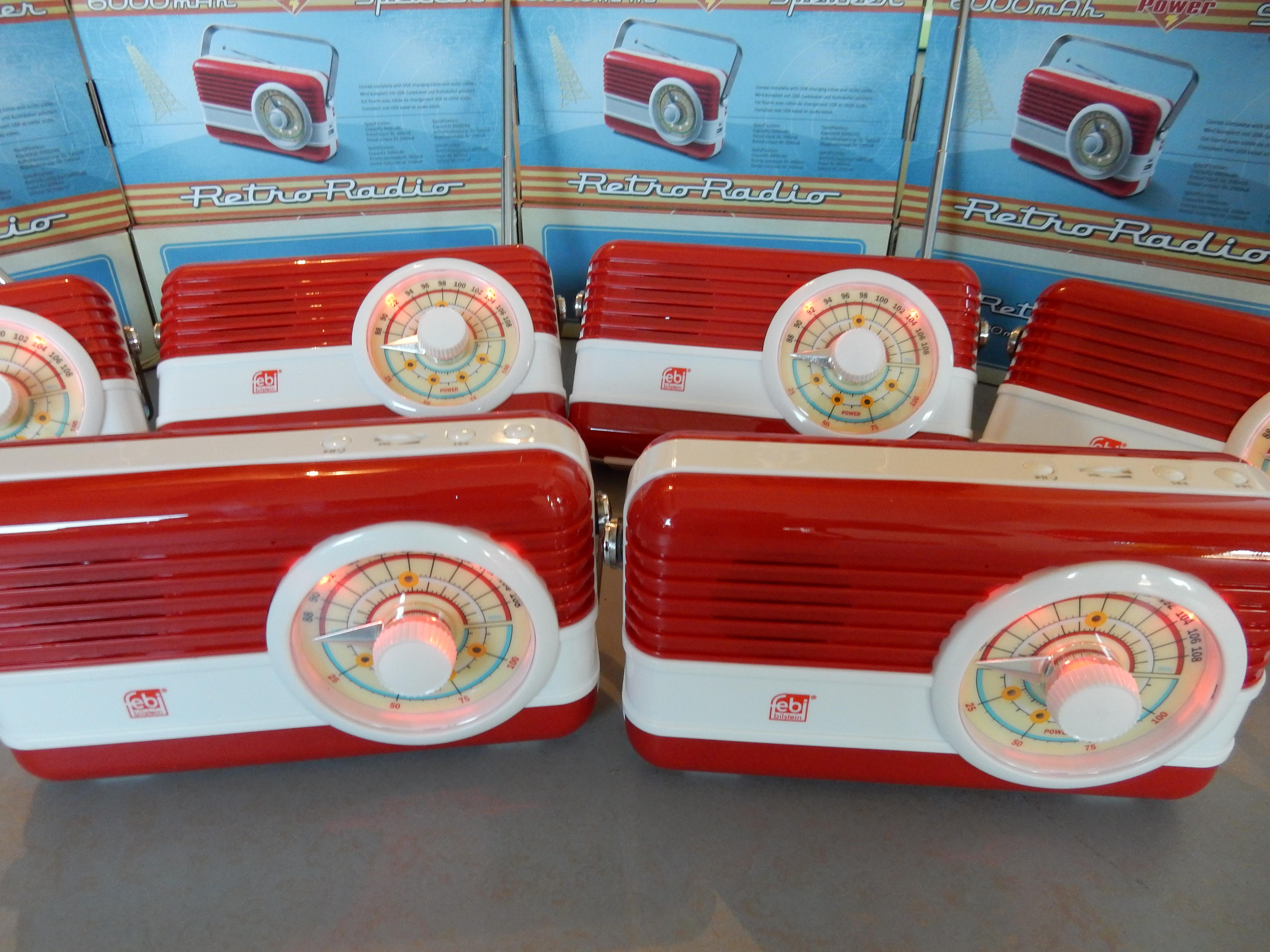 Gadget Retro Radio's
